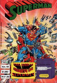 Cover Thumbnail for Supermán (Grupo Editorial Vid, 1986 series) #166