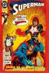 Cover Thumbnail for Supermán (Grupo Editorial Vid, 1986 series) #182
