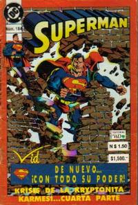 Cover Thumbnail for Supermán (Grupo Editorial Vid, 1986 series) #184