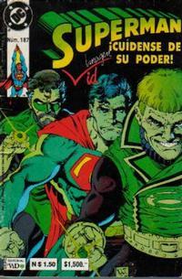 Cover Thumbnail for Supermán (Grupo Editorial Vid, 1986 series) #187