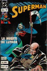 Cover Thumbnail for Supermán (Grupo Editorial Vid, 1986 series) #188