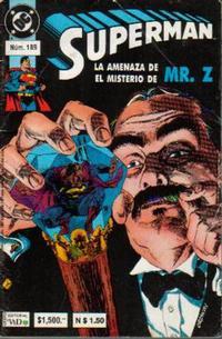 Cover Thumbnail for Supermán (Grupo Editorial Vid, 1986 series) #189