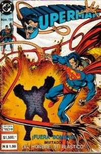 Cover Thumbnail for Supermán (Grupo Editorial Vid, 1986 series) #191