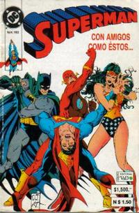 Cover Thumbnail for Supermán (Grupo Editorial Vid, 1986 series) #193