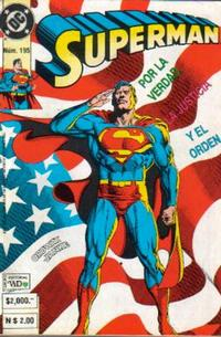 Cover Thumbnail for Supermán (Grupo Editorial Vid, 1986 series) #195