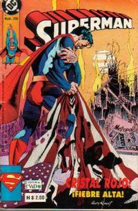 Cover Thumbnail for Supermán (Grupo Editorial Vid, 1986 series) #206