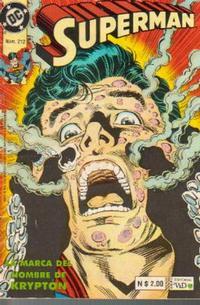 Cover Thumbnail for Supermán (Grupo Editorial Vid, 1986 series) #212