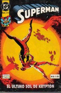 Cover Thumbnail for Supermán (Grupo Editorial Vid, 1986 series) #214