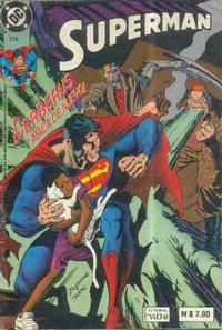 Cover Thumbnail for Supermán (Grupo Editorial Vid, 1986 series) #218