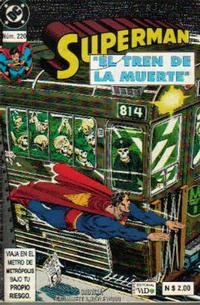 Cover Thumbnail for Supermán (Grupo Editorial Vid, 1986 series) #220