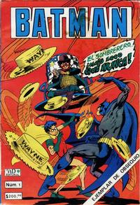 Cover for Batman (Grupo Editorial Vid, 1987 series) #1