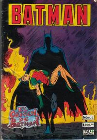Cover Thumbnail for Batman (Grupo Editorial Vid, 1987 series) #2