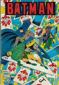 Cover Thumbnail for Batman (Grupo Editorial Vid, 1987 series) #3