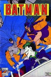 Cover Thumbnail for Batman (Grupo Editorial Vid, 1987 series) #4