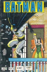 Cover Thumbnail for Batman (Grupo Editorial Vid, 1987 series) #46