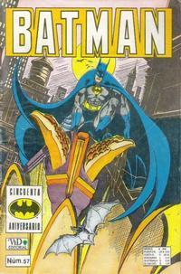 Cover Thumbnail for Batman (Grupo Editorial Vid, 1987 series) #57