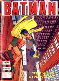 Cover Thumbnail for Batman (Grupo Editorial Vid, 1987 series) #68