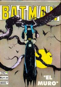 Cover Thumbnail for Batman (Grupo Editorial Vid, 1987 series) #89