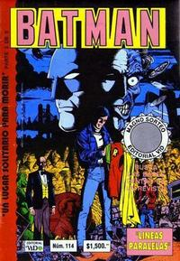 Cover Thumbnail for Batman (Grupo Editorial Vid, 1987 series) #114