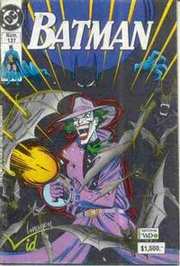 Cover Thumbnail for Batman (Grupo Editorial Vid, 1987 series) #137