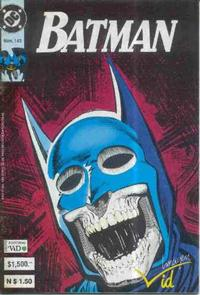 Cover Thumbnail for Batman (Grupo Editorial Vid, 1987 series) #143