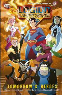 Cover Thumbnail for The Legion of Super-Heroes in the 31st Century: Tomorrow's Heroes (DC, 2008 series)