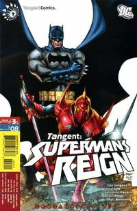 Cover Thumbnail for Tangent: Superman's Reign (DC, 2008 series) #3