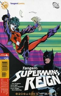 Cover Thumbnail for Tangent: Superman's Reign (DC, 2008 series) #4