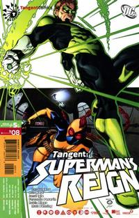 Cover Thumbnail for Tangent: Superman's Reign (DC, 2008 series) #5