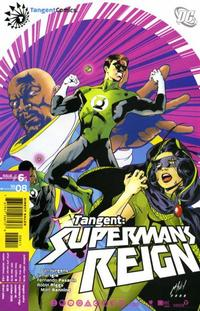 Cover Thumbnail for Tangent: Superman's Reign (DC, 2008 series) #6