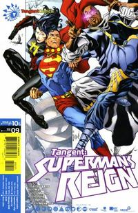 Cover Thumbnail for Tangent: Superman's Reign (DC, 2008 series) #10