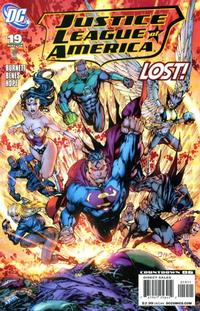 Cover for Justice League of America (DC, 2006 series) #19