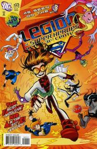 Cover Thumbnail for The Legion of Super-Heroes in the 31st Century (DC, 2007 series) #15 [Direct Sales]