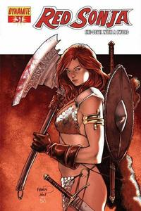Cover Thumbnail for Red Sonja (Dynamite Entertainment, 2005 series) #31 [Paul Renaud Cover]