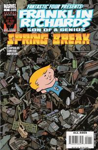Cover Thumbnail for Franklin Richards: Spring Break (Marvel, 2008 series) #1