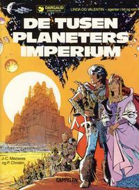 Cover Thumbnail for Linda og Valentin (Cappelen, 1987 series) #2 - De tusen planeters imperium