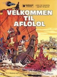 Cover Thumbnail for Linda og Valentin (Cappelen, 1987 series) #4 - Velkommen til Aflolol
