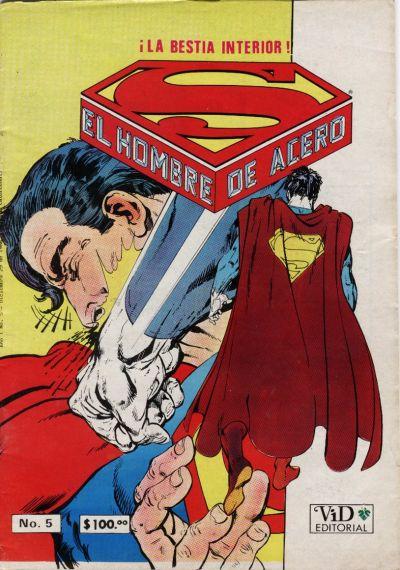 Cover for Supermán (Grupo Editorial Vid, 1986 series) #5