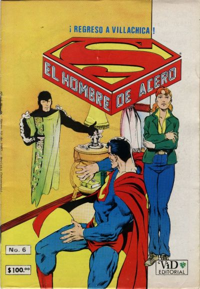 Cover for Supermán (Grupo Editorial Vid, 1986 series) #6
