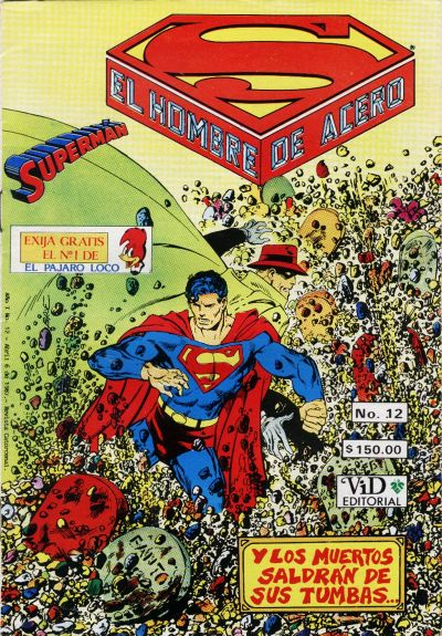 Cover for Supermán (Grupo Editorial Vid, 1986 series) #12