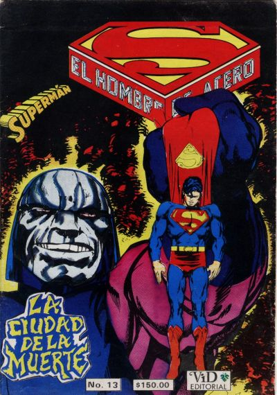 Cover for Supermán (Grupo Editorial Vid, 1986 series) #13