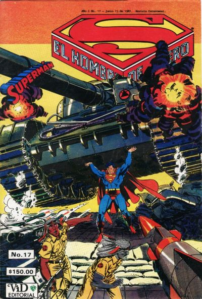 Cover for Supermán (Grupo Editorial Vid, 1986 series) #17