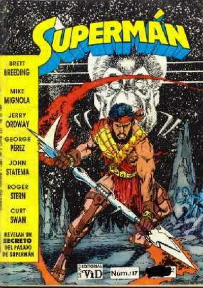 Cover for Supermán (Grupo Editorial Vid, 1986 series) #117