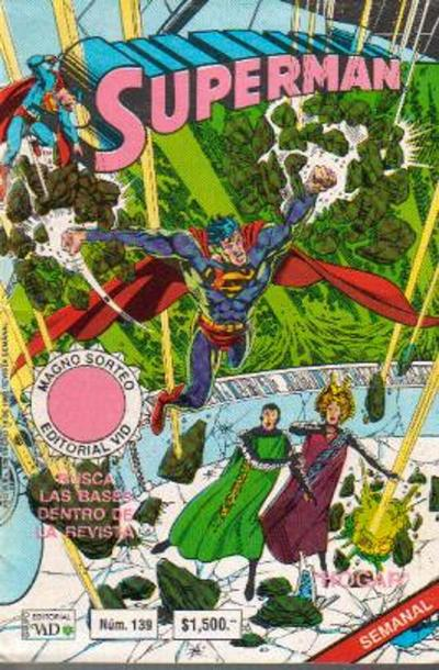 Cover for Supermán (Grupo Editorial Vid, 1986 series) #139