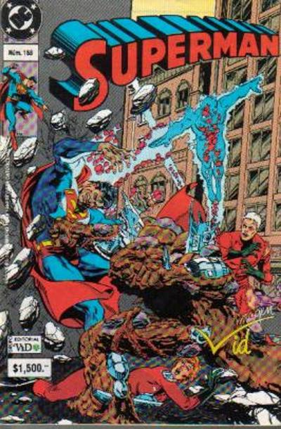 Cover for Supermán (Grupo Editorial Vid, 1986 series) #158