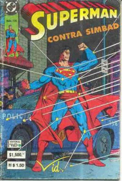 Cover for Supermán (Grupo Editorial Vid, 1986 series) #176