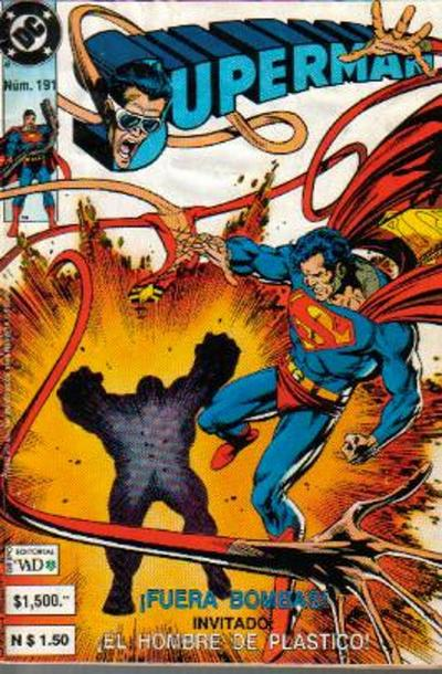 Cover for Supermán (Grupo Editorial Vid, 1986 series) #191