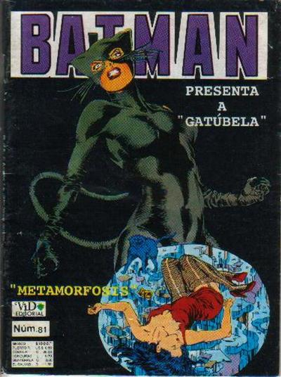 Cover for Batman (Grupo Editorial Vid, 1987 series) #81
