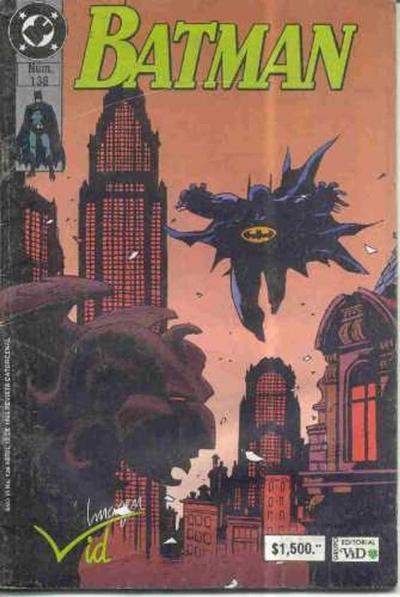 Cover for Batman (Grupo Editorial Vid, 1987 series) #138