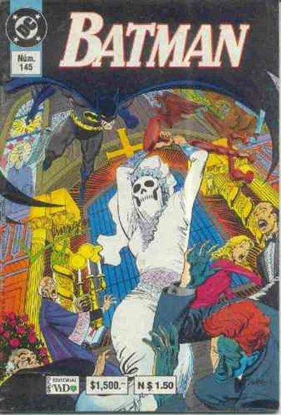 Cover for Batman (Grupo Editorial Vid, 1987 series) #145